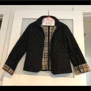 Women's Burberry Quilted Jacket - Black - XS